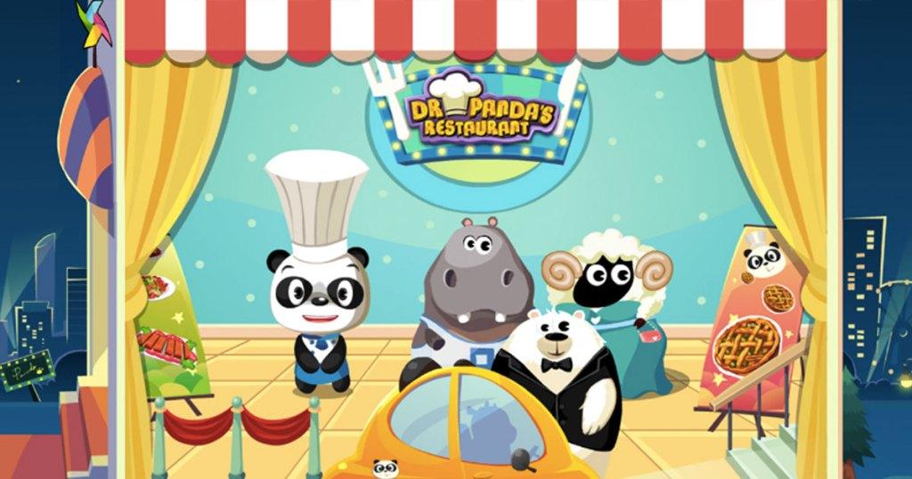 dr panda restaurant game