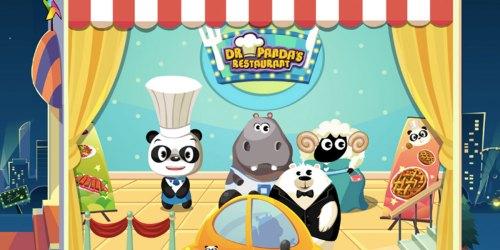 FREE Dr. Panda Restaurant App Download