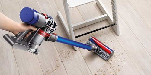 Dyson V7 Fluffy Cordless Vacuum Cleaner + Bonus Tools Just $199.99 Shipped