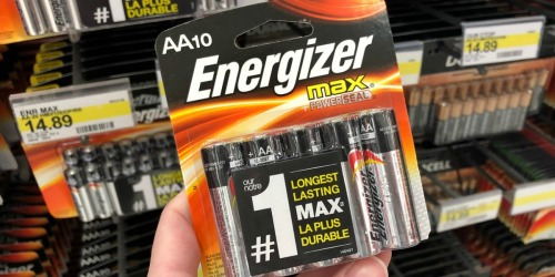 $5 Gift Card w/ $15+ Energizer Purchase | Stock Up for Holiday Toys