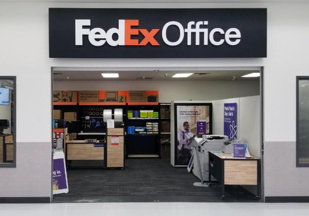 FedEx Office Inside Walmart