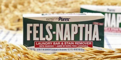 Fels Naptha Laundry & Stain Remover Bar Only 84¢ Shipped at Amazon