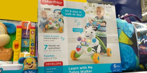 Fisher-Price Learn with Me Zebra Walker Only $10.39 at Target   Great Reviews