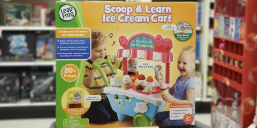 45% Off LeapFrog Scoop & Learn Ice Cream Cart at Target