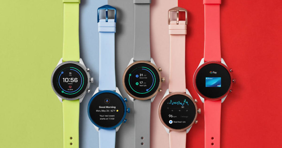 Fossil Watches in multiple colors