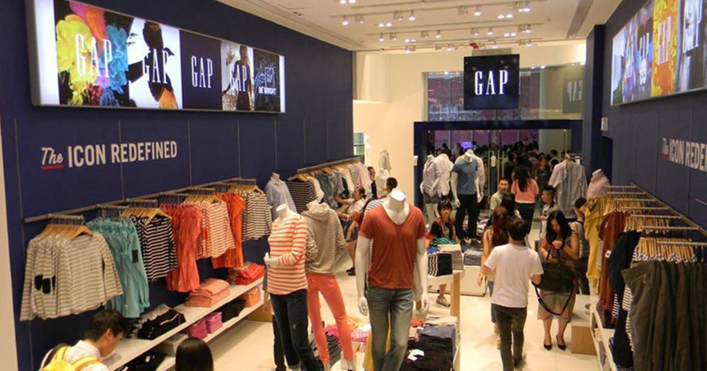 the gap store front