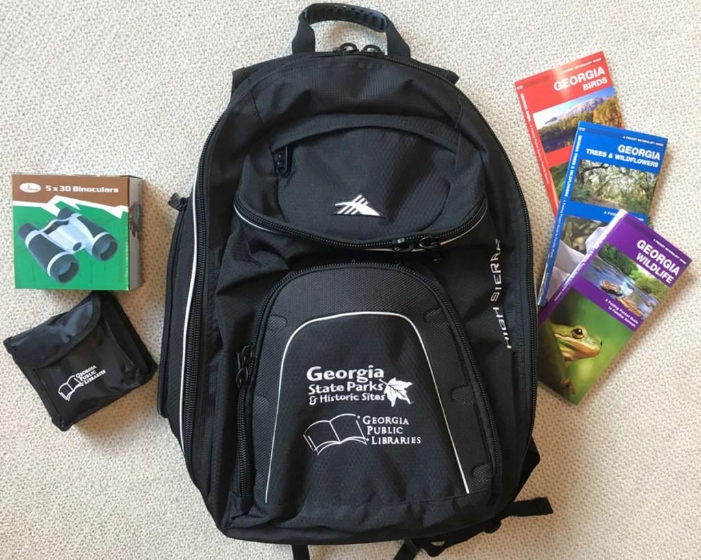 georgia library backpack