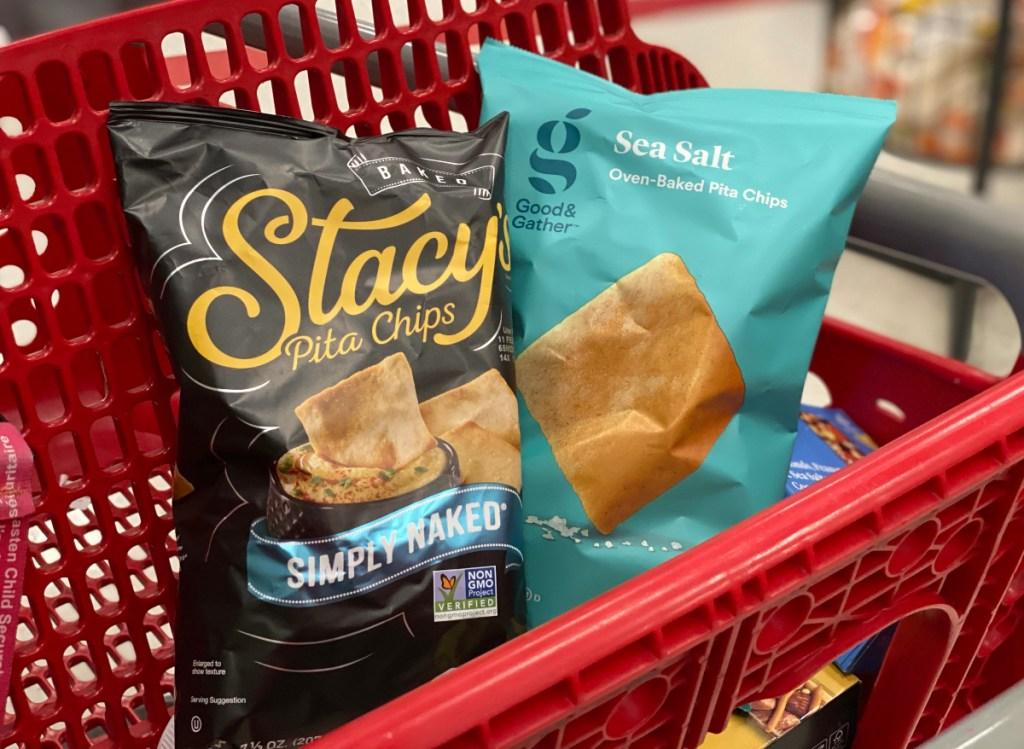Stacy's Pita Chips vs. Good & Gather