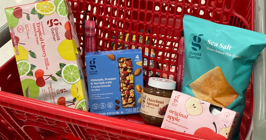 Good & Gather items in Target cart