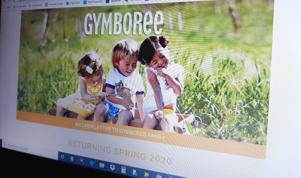 Gymboree website