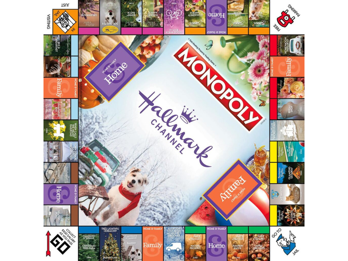 hallmark monopoly board game