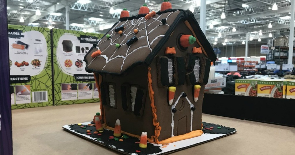 cookie house in store on display