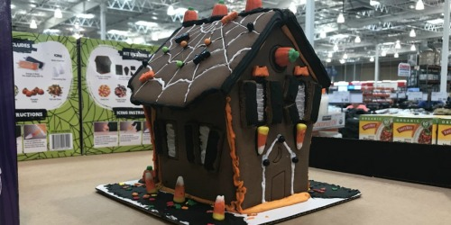 Pre-Built Chocolate Halloween House Kit Only $9.99 at Costco