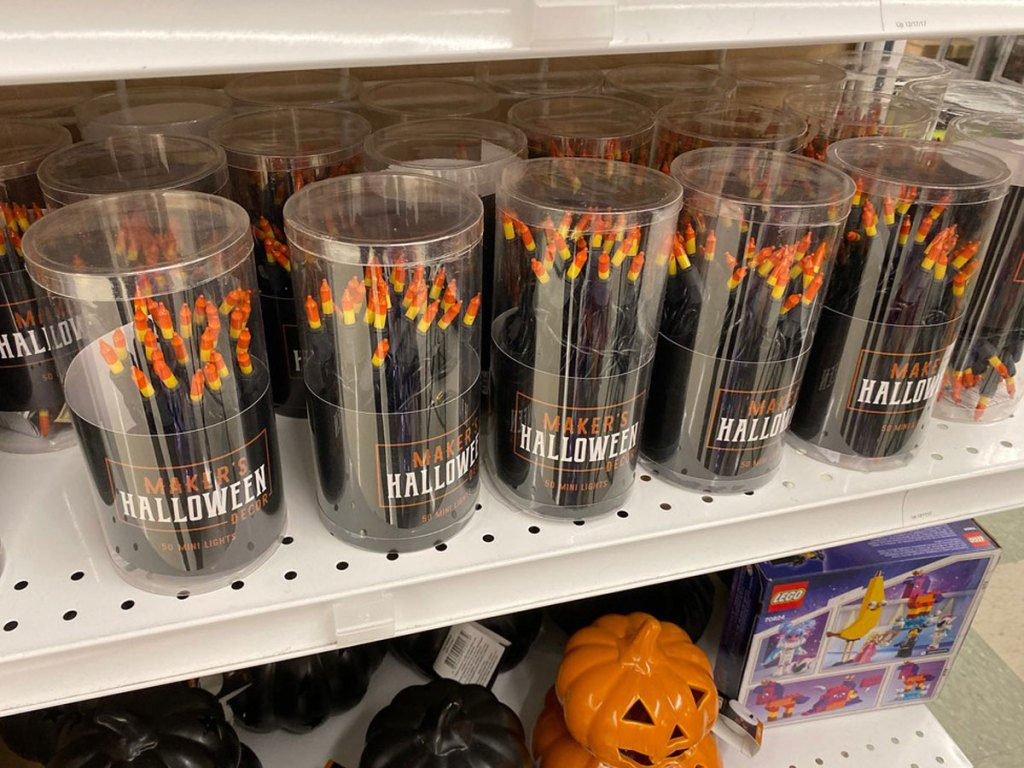 Halloween Decor Candy Corn Lights