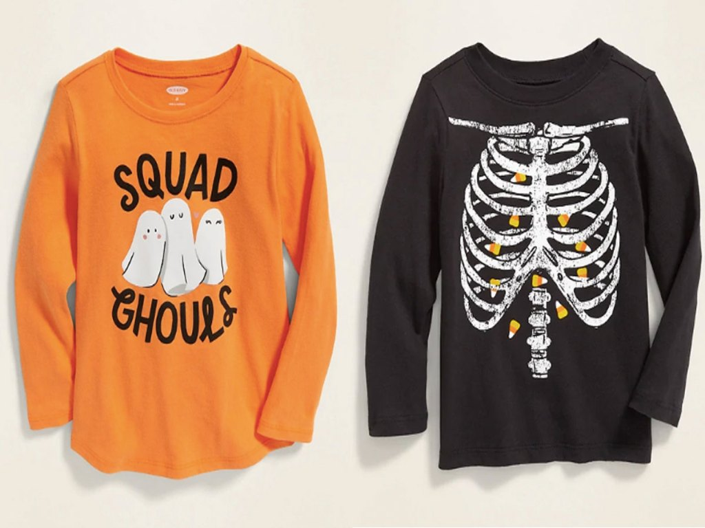 old navy halloween tees