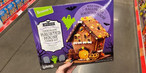 Halloween Haunted House Cookie Kit Available at ALDI