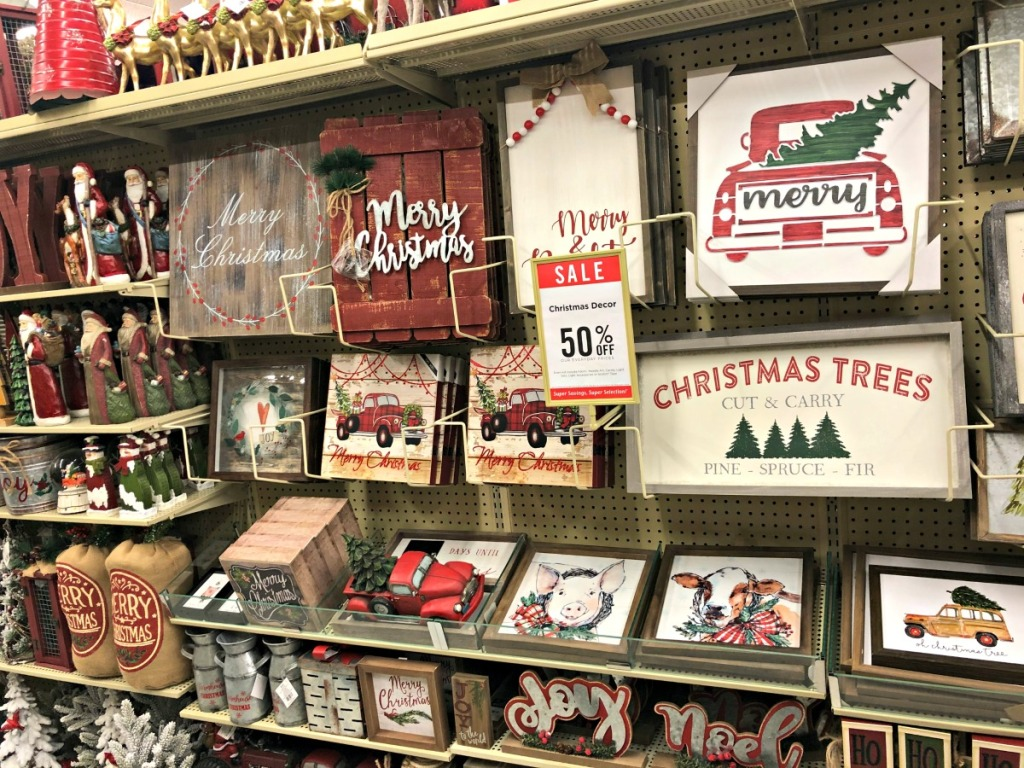 Style Your Mantel w/ Hobby Lobby Christmas Decorations ...