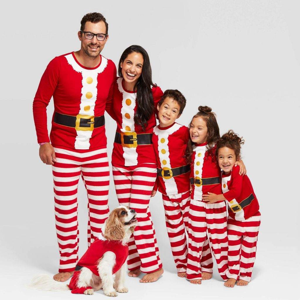 holiday Santa Pajamas