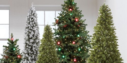 65% Off North Pole Trading Co. Pre-Lit Christmas Trees at JCPenney