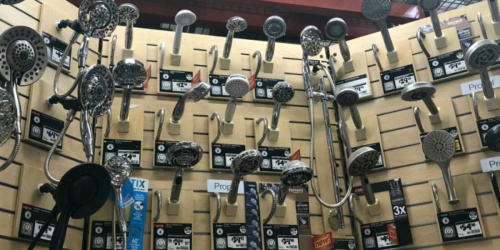 Up to 50% Off Showerheads at Home Depot