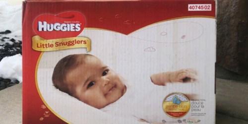 FREE $25 Walmart Gift Card w/ Two HUGE Huggies Diaper Packs Purchase