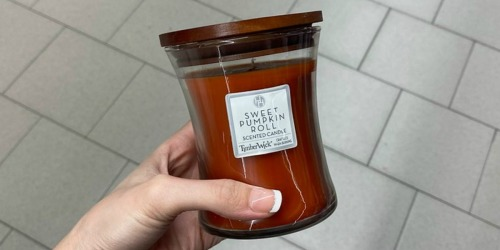 Huntington Home Wood Wick Candles Only $5.99 at ALDI