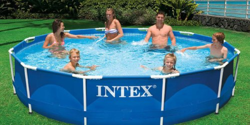 Intex 12′ x 30″ Swimming Pool w/ Filter Pump Only $69.98 Shipped (Regularly $129)