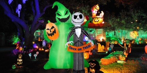 50% Off Halloween Inflatables at Lowe's | Nightmare Before Christmas, Disney & More
