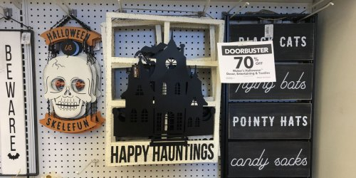 Up to 70% Off Halloween Decor at JoAnn + FREE Shipping
