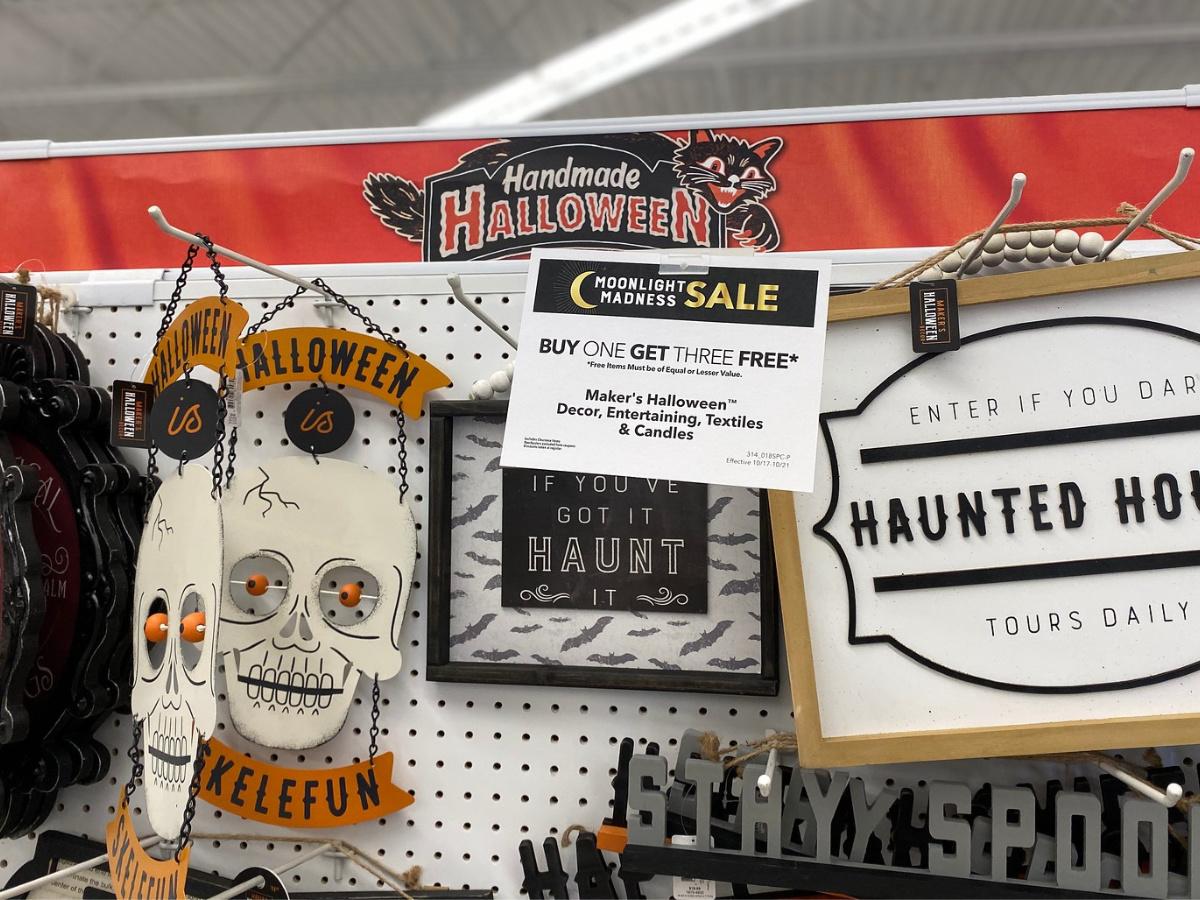 halloween items in store