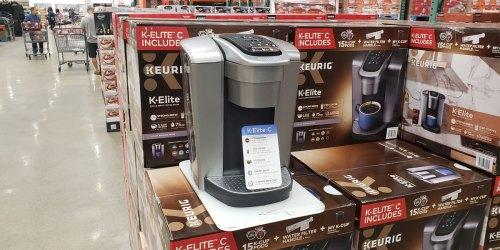 Keurig K-Elite C Coffee Maker Only $99.99 at Costco (Regularly $170)
