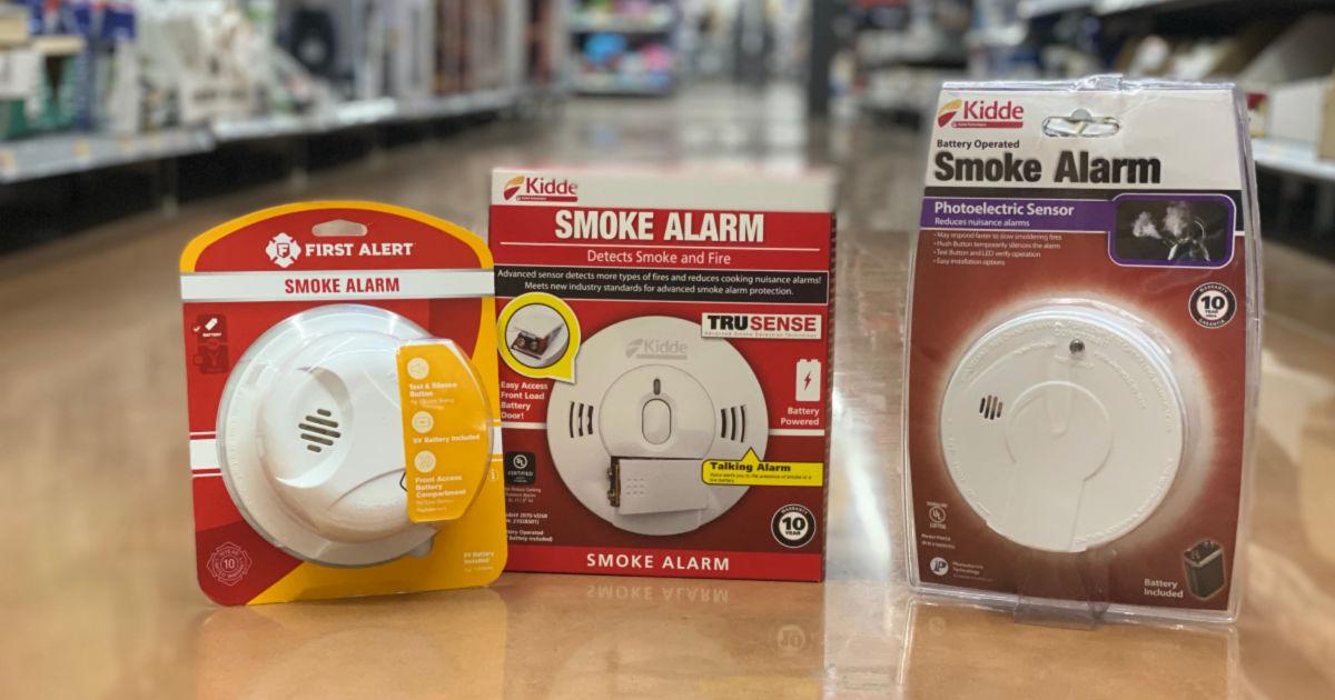 Kidde Smoke Alarms As Low As 4 44 More Hip2save