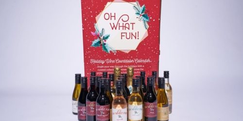 Kroger's First-Ever Wine Advent Calendar Available November 1st