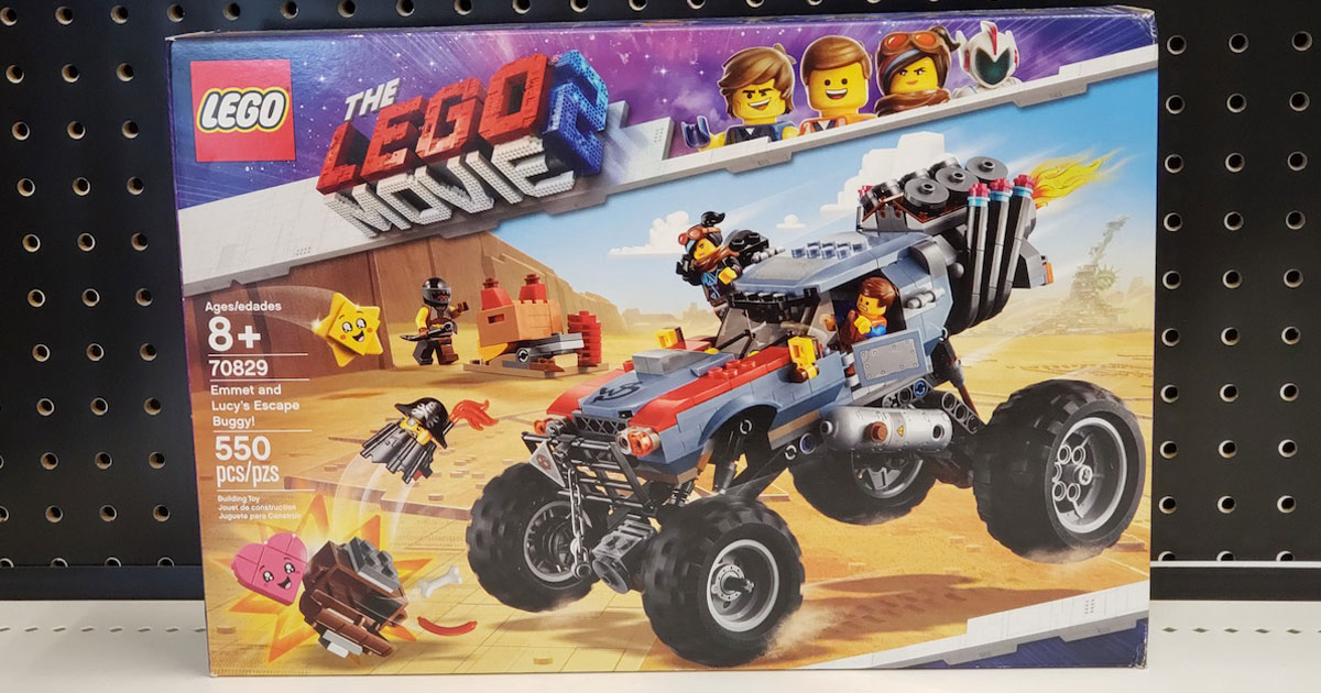 LEGO Movie 2 Emmet Buggy on shelf