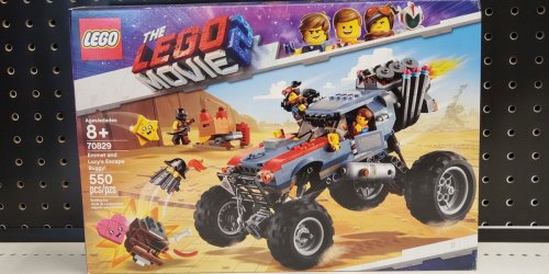LEGO Movie 2 Emmet & Lucy's Escape Buggy! Only $24.99 at Amazon (Regularly $50)