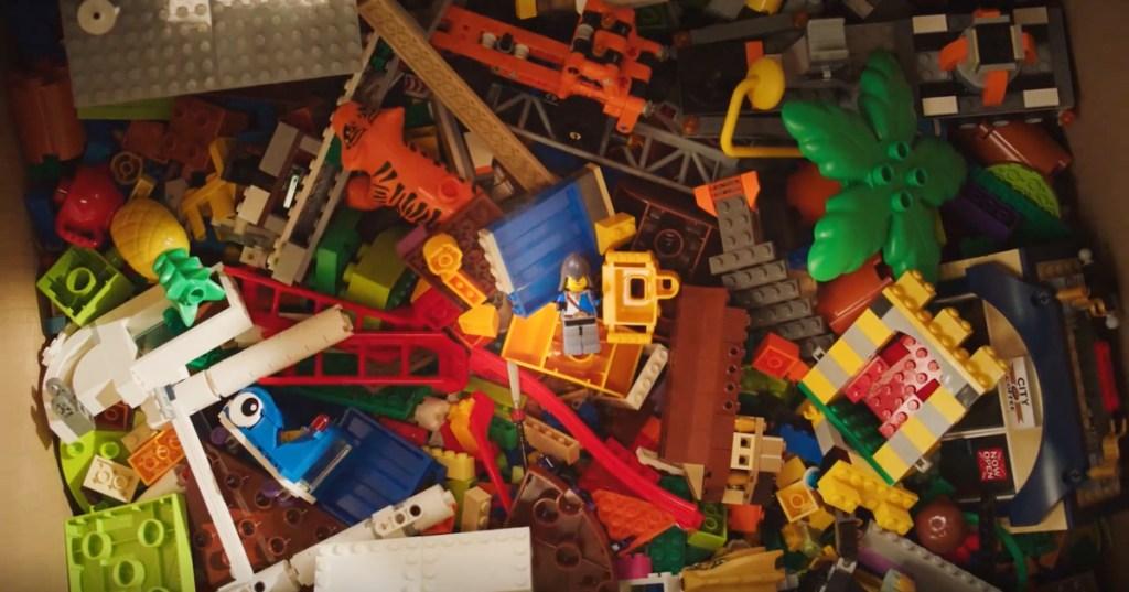 Legos in box