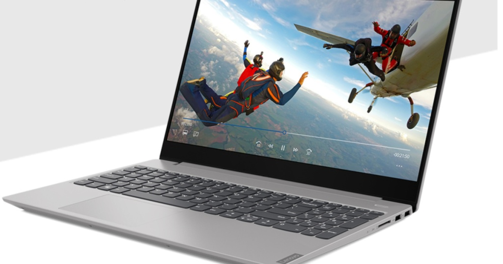 open Lenovo laptop