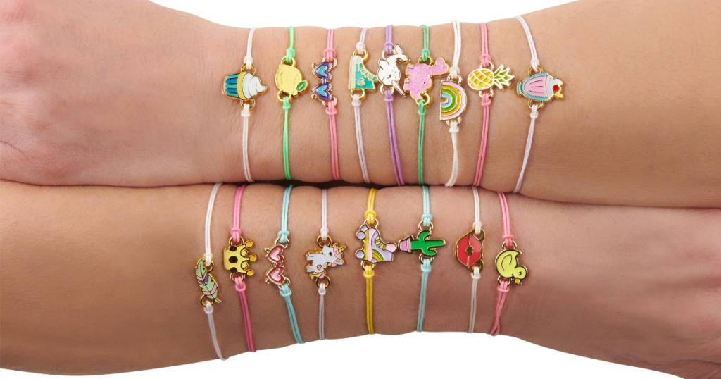 Lucky Fortune Bracelets on 2 arms