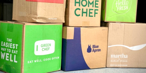 We Tried 7 Different Meal Delivery Services | Find Out Which One Was Our Favorite!