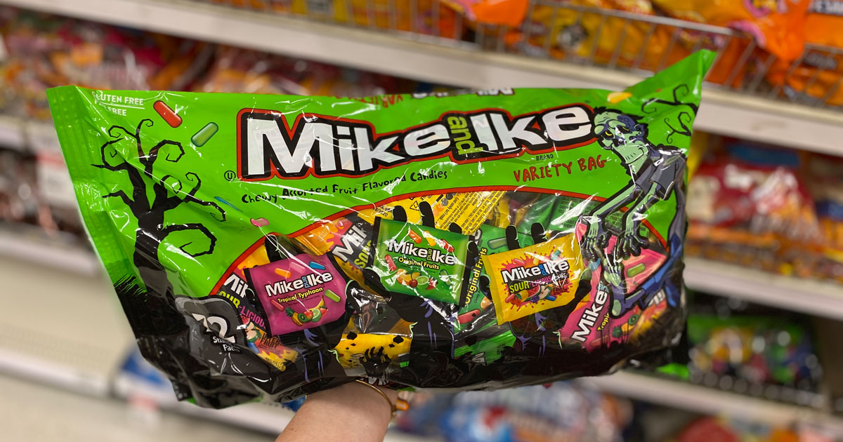 Target halloween candy mike and ike