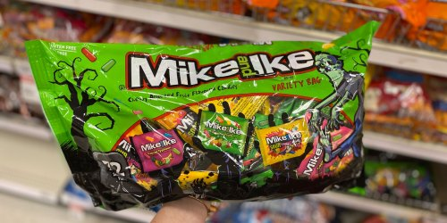 Halloween Candy LARGE Bags Just $5 Each at Target | Mike & Ike, Hershey's, Skittles & More