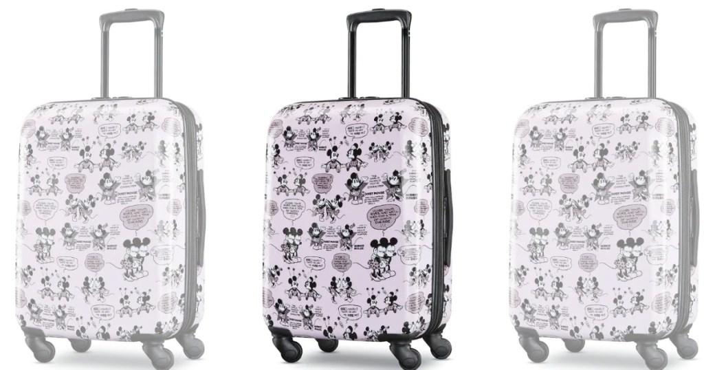 minnie hardside suitcase