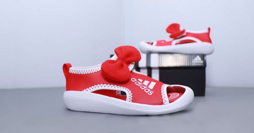 minnie mouse adidas sandals