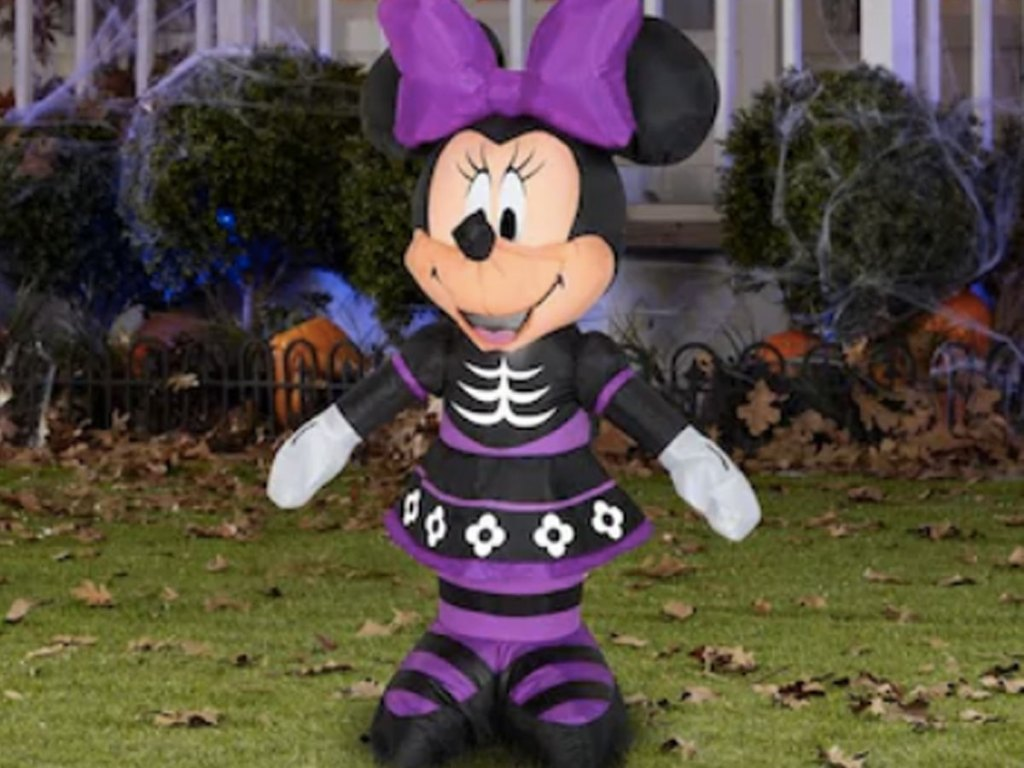 Inflatable halloween minnie mouse