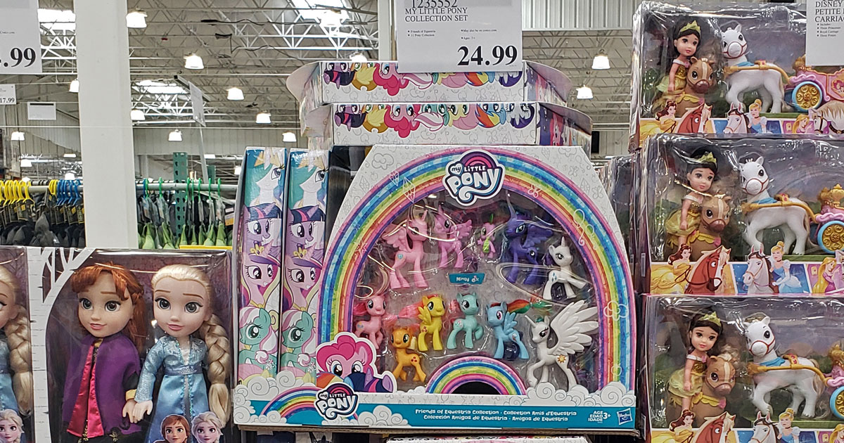 my little pony equestrian collection set