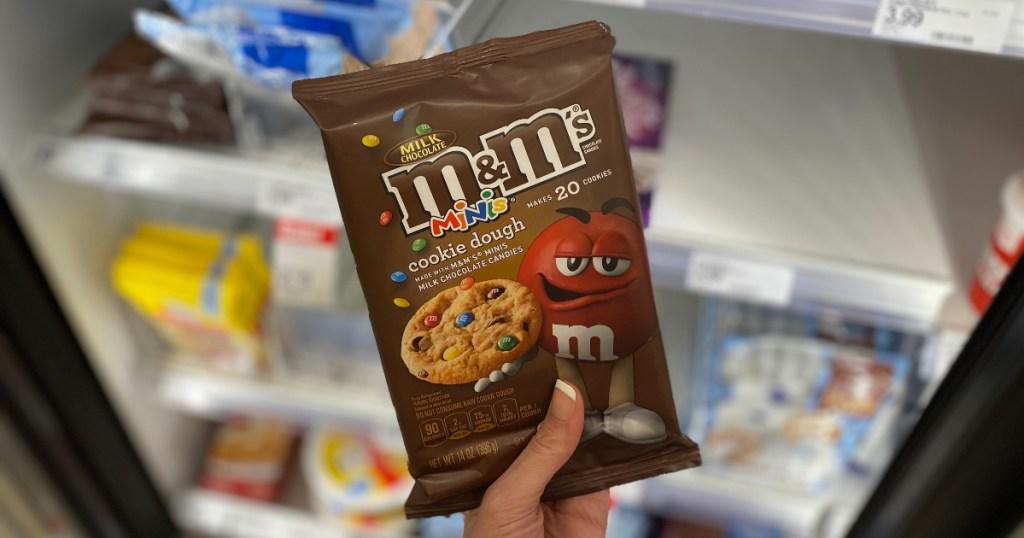 M&M's minis cookie dough