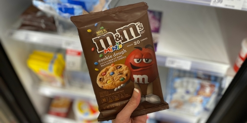 M&M's Minis Cookie Dough Now Available
