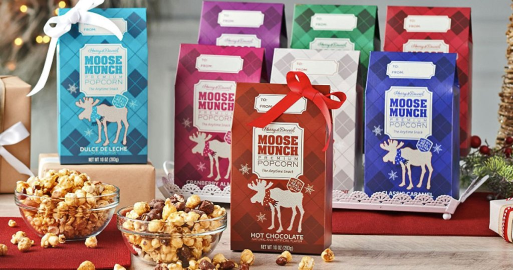 8 pack of harry david moose munch