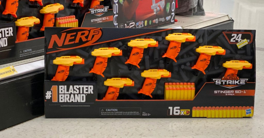 NERF Alpha Strike Stinger SD 1 8-Pack