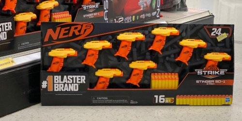 NERF Alpha Strike Stinger 8-Pack Blasters Just $7.99 at Target (Regularly $20) | In-Store & Online